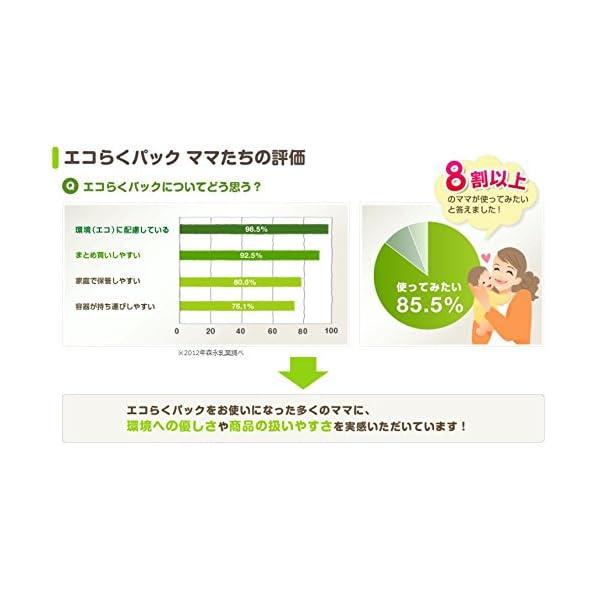 森永 はぐくみ エコらくパック 800g(40...の紹介画像7