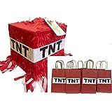 TNT Pinata & 12PK Party Favour Bags Fun Pack