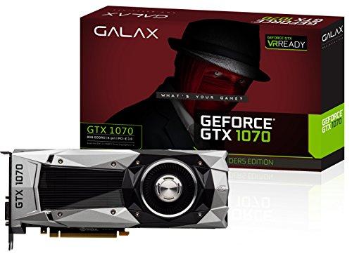GALAX NVIDIA Pascalアーキテクチャ採用 GeForce GTX 1070搭載グラフィックスカード GALAX GeForce GTX 1070 Founders Edition GF PGTX1070/8GD5