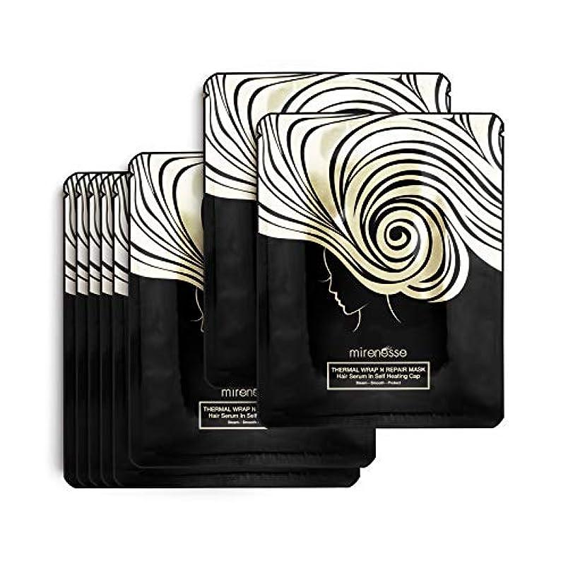 五直立硫黄Mirenesse Cosmetics Thermal Hair Wrap N Repair 8 pce