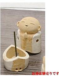 お地蔵様 香炉シリーズ 白 お地蔵様 香炉 2.8寸 [H8.5cm] HANDMADE プレゼント ギフト 和食器 かわいい インテリア