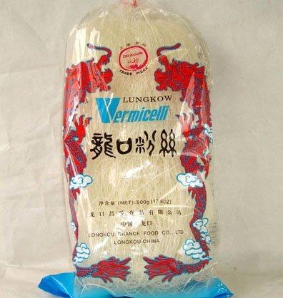 龍口粉絲500g/袋【業務用】【緑豆春雨ヌードル はるさめヌードル】中国産