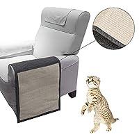 猫スクラッチマット、デラックス家具カバーソファパッドシールド洗濯可能および耐久性ソファを保護して家具の傷を防止