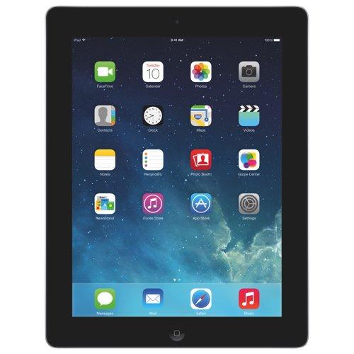 Apple アップル iPad 第4世代 wi-fi Retinaディスプレイ 16GB シルバー (フロントべゼル:ブラック) Lightningケーブル 同梱 9.7インチ 海外版 MD510C/A