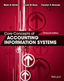 Core Concepts of Accounting Information Systems 画像