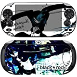 Black Rock 412 Vinyl Skin Sticker Cover Protector for Sony Playstation PS Vita PSV by Cool Colour [並行輸入品]
