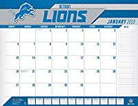 Turner Licensing Detroit Lions 2019 デスクカレンダー (19998061536)