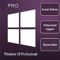 Win 10 Pro 32bit 64bit ダウンロード版 1PC オンライン認証保証