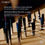 モーツァルト : ピアノ協奏曲集 第5集 (Mozart : Piano Concertos VOL.5 ~ Nos 20 in D minor & 27 in B flat major / Ronald Brautigam | Die Kolner Akademie | Michael Alexander Willens)[SACD Hybrid] [輸入盤] [日本語帯・解説付]