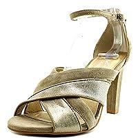 Seychelles Women's Betrayal Taupe/Platinum Sandal [並行輸入品]