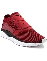 (プーマ) Puma 靴?シューズ メンズスニーカー Mens Puma Tsugi Shinsei evoKNIT Athletic Shoe Red Dahlia/Black レッド /ブラック US 11 (29cm)