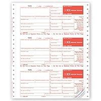 セルフMailer連続印刷可能な税金フォーム1099-int 4-part-3000