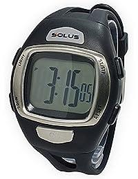 [ソーラス] SOLUS 腕時計 デジタル 心拍計測機能付き トレーニングウォッチ ブラック メンズ [正規輸入品]