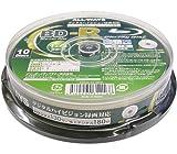 ALL-WAYS Blu-ray25GB一回録画用 ワイドホワイトプリンタブル 1-4倍速スピンドルケース10枚入り ABR25-4X10PW