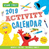 Sesame Street 2019 Activity Calendar: Monthly Fun for the Whole Family!