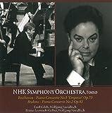 N響85周年記念シリーズ:ベートーヴェン:ピアノ協奏曲第5番 他/エミール・ギレリス、ブラームス:ピアノ協奏曲第2番/ブルーノ・レオナルド・ゲルバー (NHK Symphony Orchestra, Tokyo) [2CD]