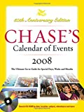 Chase's Calendar of Events 2008 w/CD-Rom