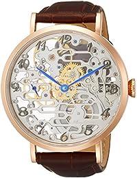 a7a5dbf38d [アルカフトゥーラ]ARCA FUTURA 腕時計 手巻き スケルトン 8322RGBR メンズ