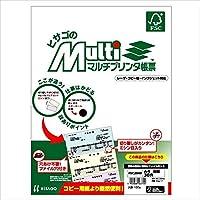 ヒサゴ コピー用紙 マルチプリンタ帳票FSC A4白紙30穴 100枚 FSC2049