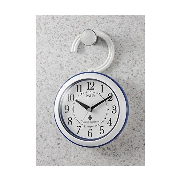 リズム時計 DAILY 掛け時計 防滴防塵 ア...の紹介画像5