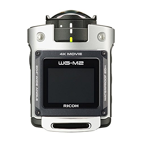 RICOH 防水アクションカメラ WG-M2 シルバー 4K動...