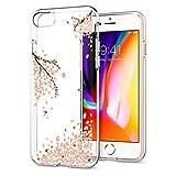 【Spigen】 スマホケース iPhone8 ケース / iPhone7 ケース 対応 TPU 超薄型 超軽量 リキッド・クリスタル 042CS21220 (シャイン・ブロッサム)