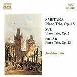 スメタナ/スーク/ノヴァーク:ピアノ三重奏曲集