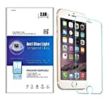 iNTE-SMP Accessories 【Amazon限定・即日出荷】ブルーライトカット90% 強化ガラス iPhone 6 / 6S 液晶保護フィルム ブルーライト カット ガラスフィルム 90% カット 薄さ0.3mm 表面硬度9H・ラウンド処理・飛散防止処理 新設計 3D touch 対応 アイフォン6 アイフォン6S iNTE-SMP001-6-3