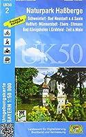 Naturpark Hassberge 1 : 50 000 (UK 50-2): Schweinfurt, Bad Neustadt a.d.Saale, Hassfurt, Muennerstadt, Ebern, Eltmannn, Bad Koenigshofen i.Grabfeld, Zeil a.Main, Baunach, Sesslach, Ummerstadt, Hofheim i.UFr., Koenigsberg i.Bay., Broennhof, Fraenkische Saale, Grabfeld