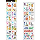 パインブック デザイン小物 アルファベットイラスト S マスキングアート 知育 MA00017