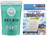 カビ対策 コラボセット (シャボン玉石けん酸素系漂白剤750g + コジット洗濯槽のカビにヨードのチカラ)