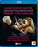 Anne-Sophie Mutter & Karajan [Blu-ray]