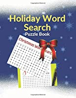 Holiday Word Search Puzzle Book: Brain Games For Clever Kids Christmas Puzzle Book