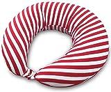 マルチに使える ベビー&ママクッション シムス 抱き枕 授乳 お座りサポート (キャンディーストライプ)