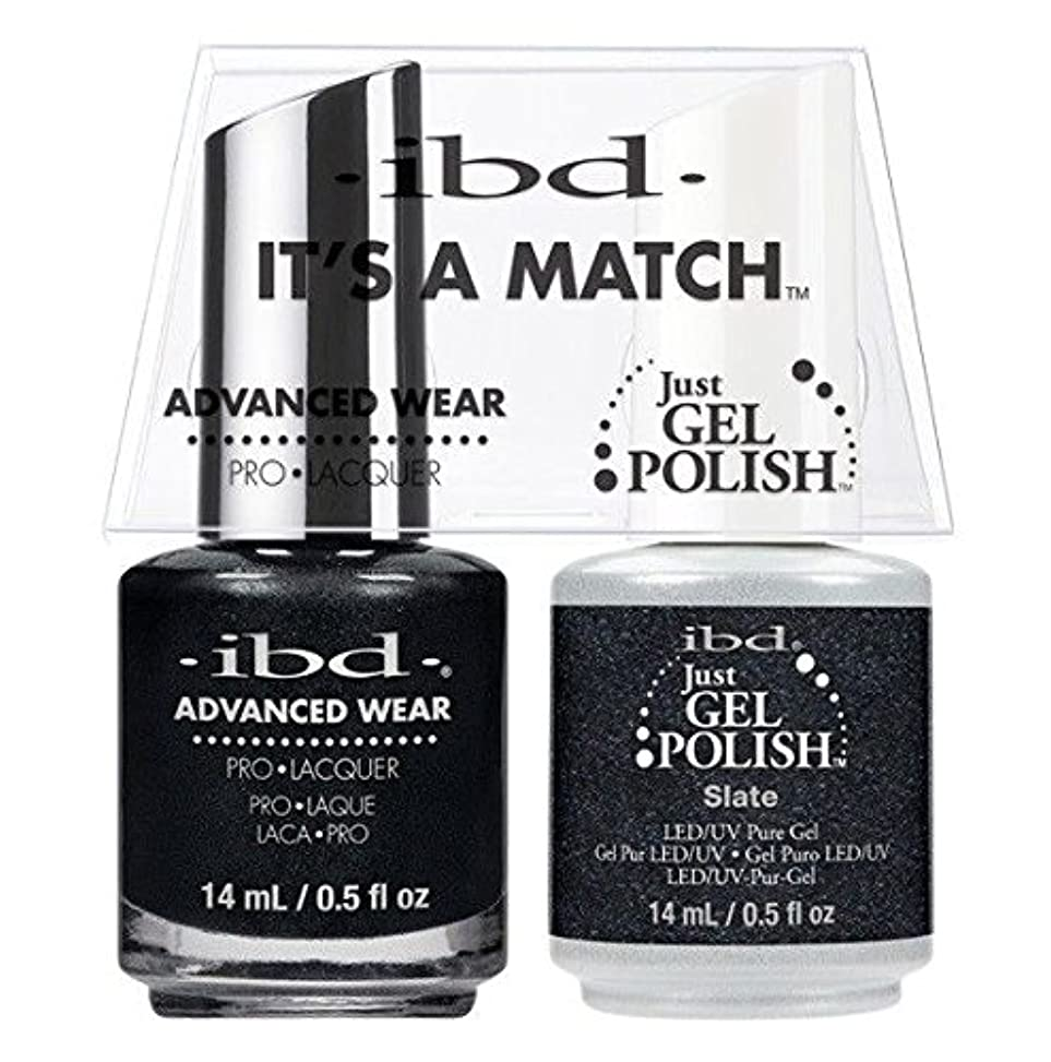 カビ怠惰味方ibd - It's A Match -Duo Pack- Slate - 14 mL / 0.5 oz Each