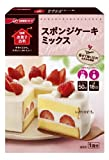 日清お菓子百科 スポンジケーキミックス 200g×6個