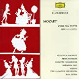 Mozart: Cosi Fan Tutte (Highlights) 画像