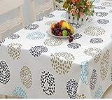 かわいい 花柄 テーブルクロス 140×180cm & ミニマットセット (お祝いの花火)