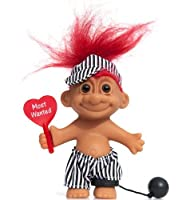"""My Lucky Prisoner Troll 6"""" Troll人形"""" Most Wanted """"–Red Hair"""