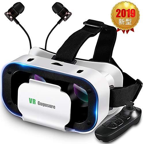 Gugusure 3D VRゴーグル VRヘッドセット 3D...