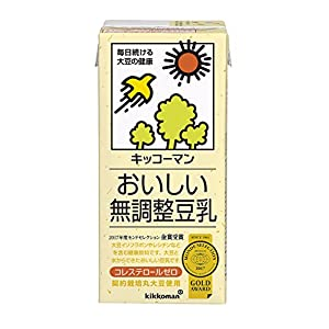 キッコーマン飲料 おいしい無調整豆乳 1L×6本の関連商品1