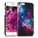 kwmobile ハードケース 宇宙デザイン > Apple iPhone 6 / 6S < 用 マルチカラダークピンク黒色