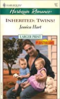 Inherited: Twins! (The Australians) (Harlequin Large Print (Numbered Paperback))