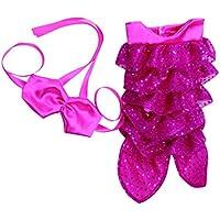 SONONIA セット マーメイド ビキニ ドレス スカート 18インチアメリカガールドール用 ドレスアップ