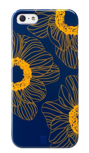 Case Scenario Girl Cover for iPhone 5s/5 Orange Flower Case Scenario