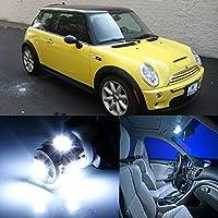 FidgetGear ミニクーパー2003用8個の明るいLEDインテリアSMDライトキットEroorフリー