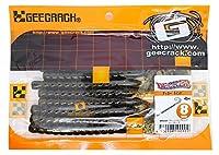 ジークラック(GEECRACK) ワーム デッカ― 8インチ グリパン/ブルーフレーク #023 ルアー