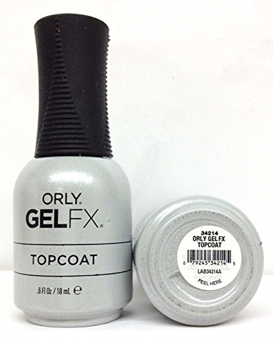 シビックスーツケース居間Orly Gel FX - Top Coat - 0.6 oz / 18 mL