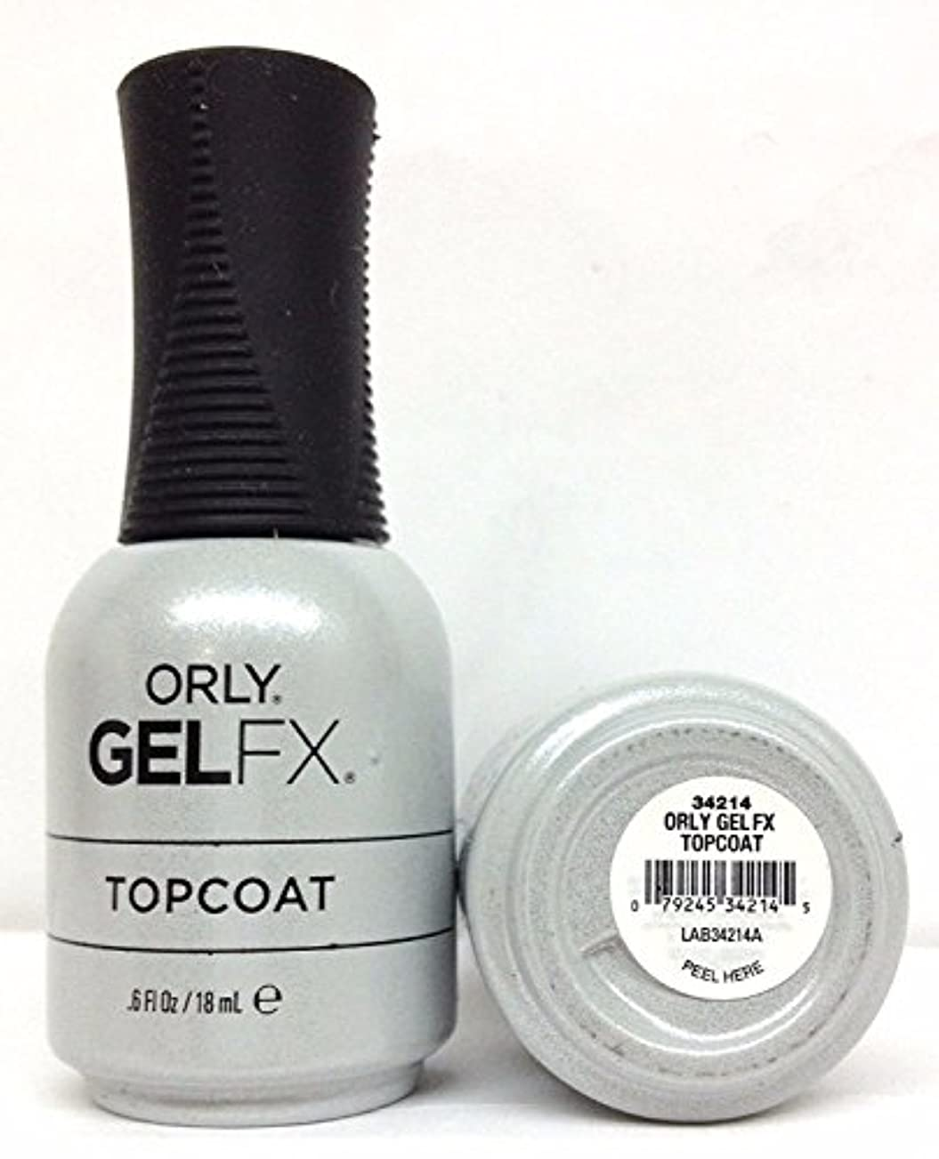 しつけマナー接地Orly Gel FX - Top Coat - 0.6 oz / 18 mL