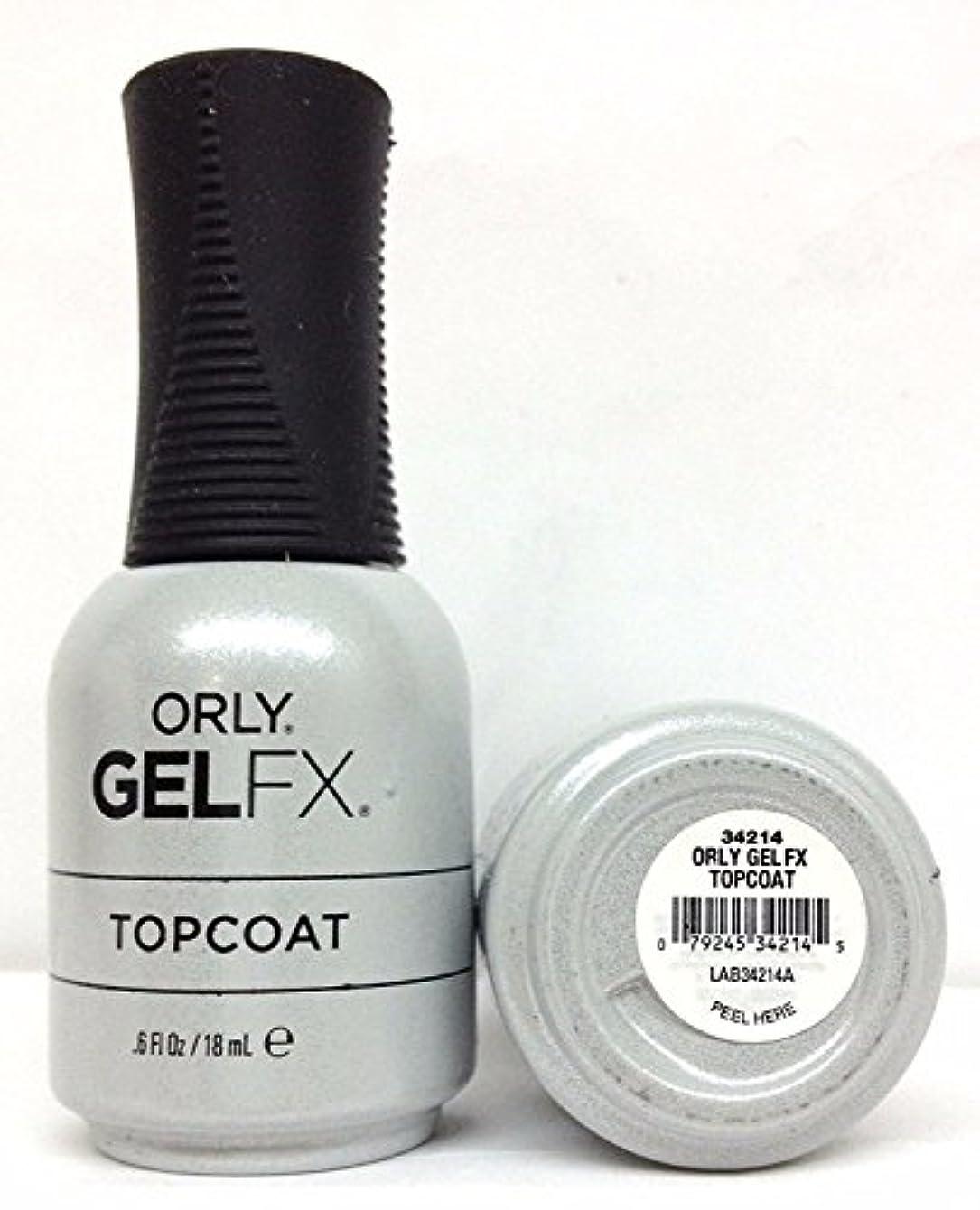 猫背落胆した鉄道駅Orly Gel FX - Top Coat - 0.6 oz / 18 mL